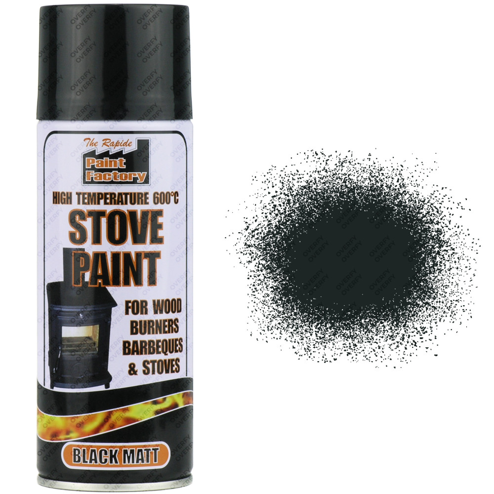 Blackfriar Heat Resistant Paint Black Ml
