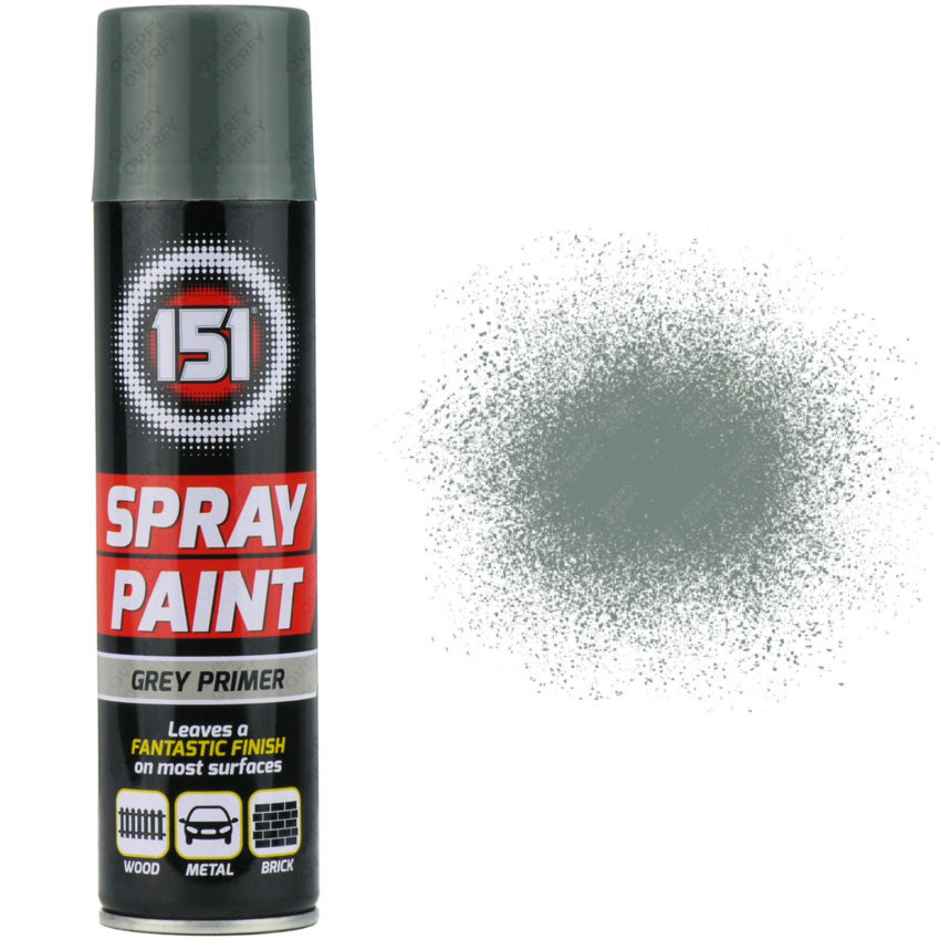 250ml 151 Grey Primer Spray Paint Sprayster
