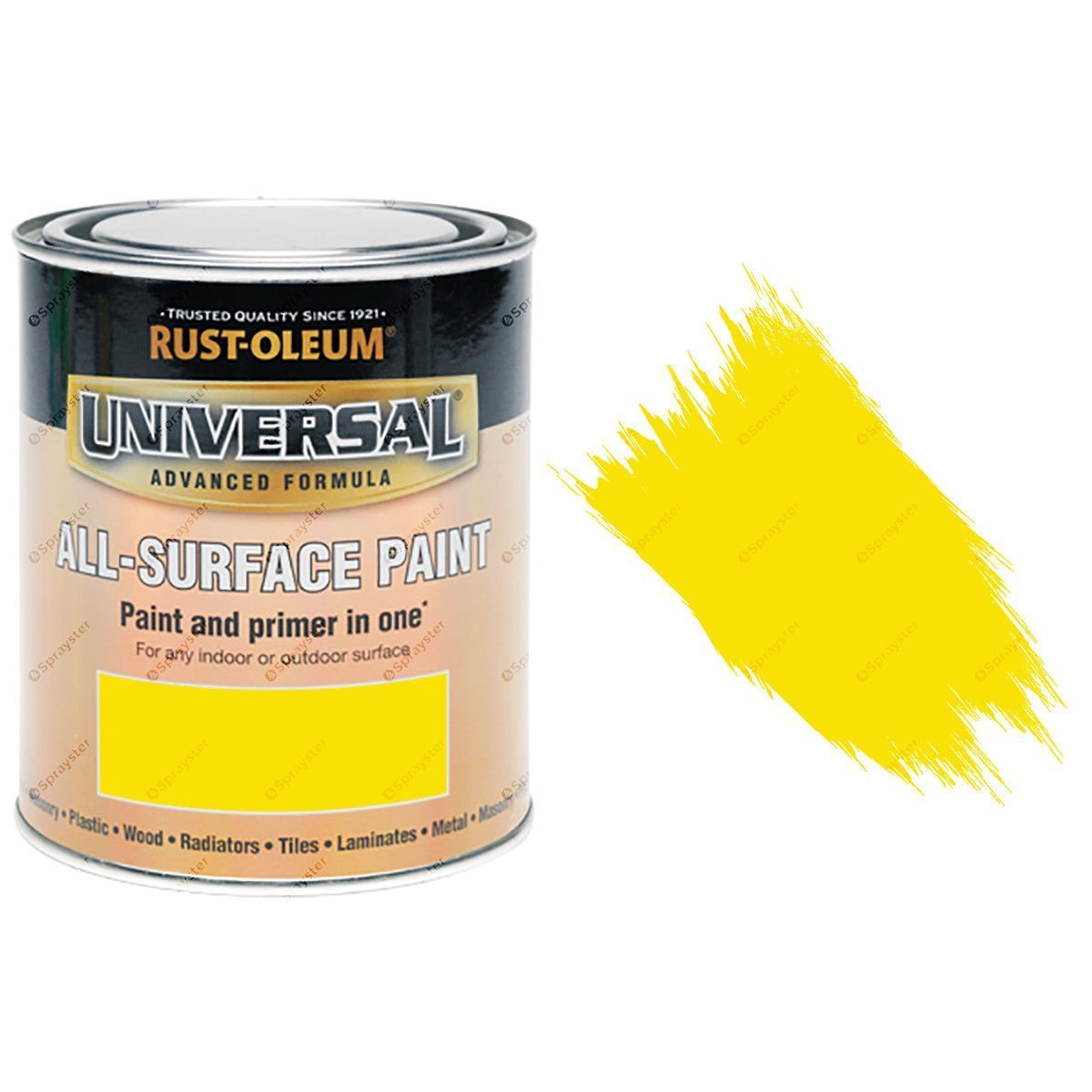 Yellow Clear Spray Paint